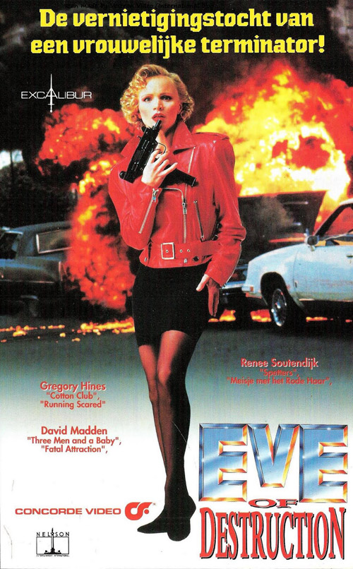 Visuel allemand de 'Eve of Destruction'