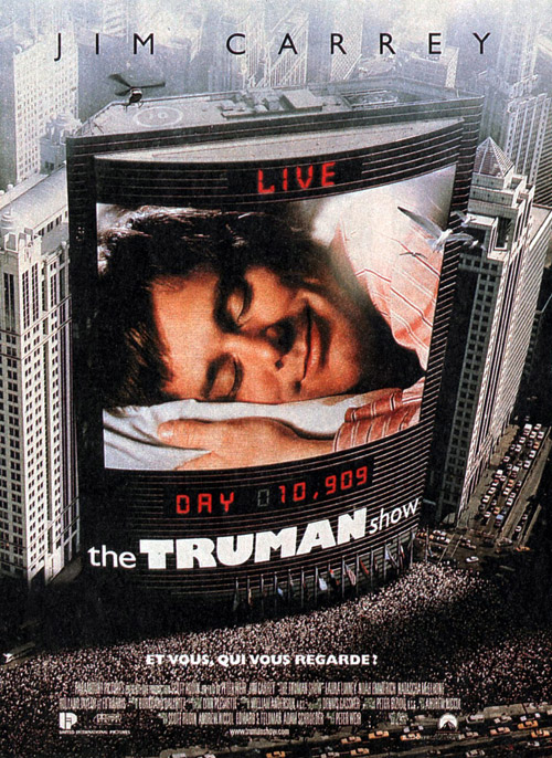 a review of peter weirs movie the truman show Peter weir's direction is the heart of the movie, it was a masterful way on how he made the film work, and stay true to its idea the actors are also the ones great weir movie (gotta love the fake reviews below) 3/29/02: truman show is definitely over-rated it is not so good actually.