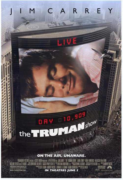 Us poster from the movie The Truman Show