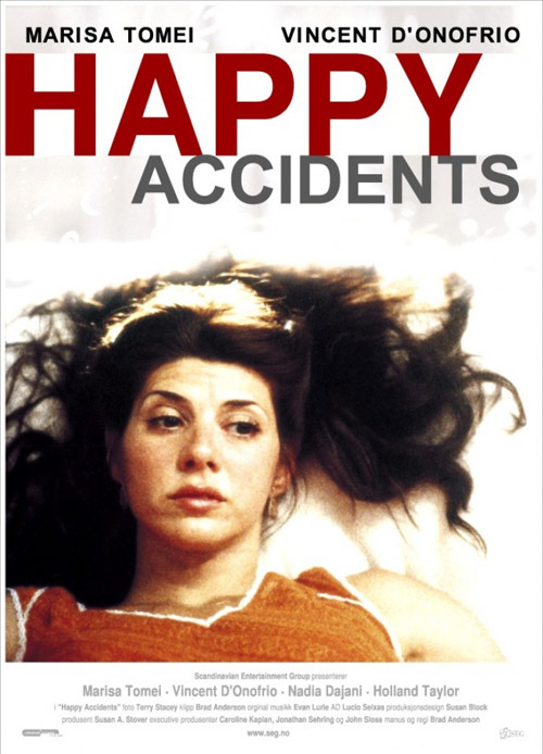 Norwegian poster from the movie Happy Accidents