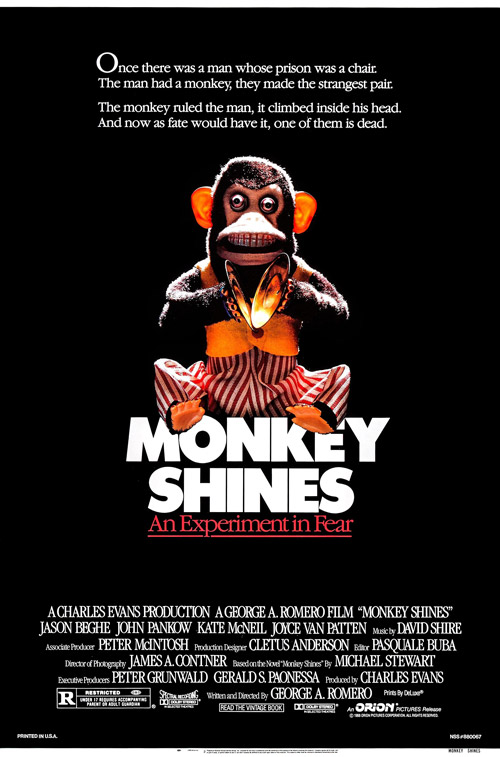 Us poster from the movie Monkey Shines