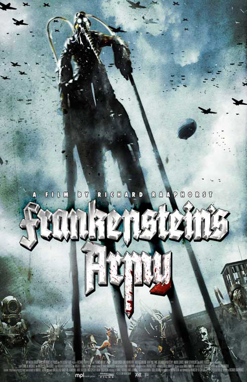 Us poster from the movie Frankenstein's Army