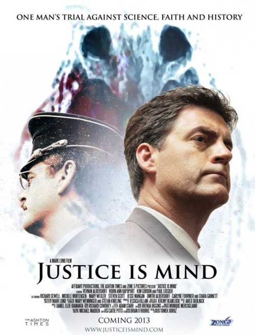 Affiche américaine de 'Justice Is Mind'