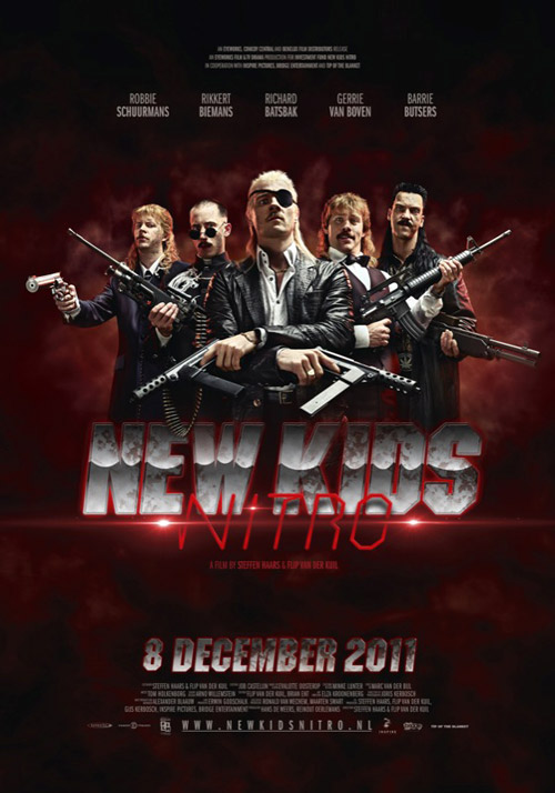 Affiche hollandaise de 'New Kids Nitro'