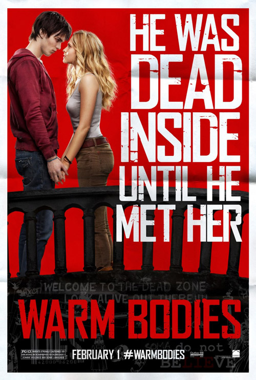 Us poster from the movie Warm Bodies
