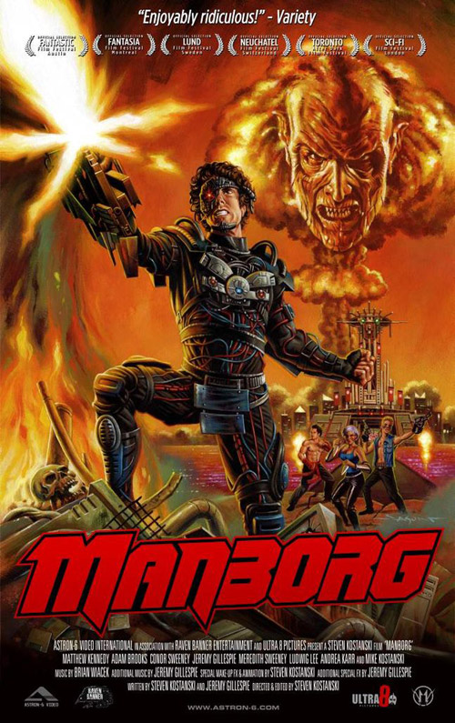Unknown poster from the movie Manborg