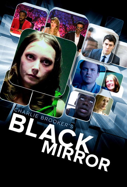 Affiche britannique de 'Black Mirror'