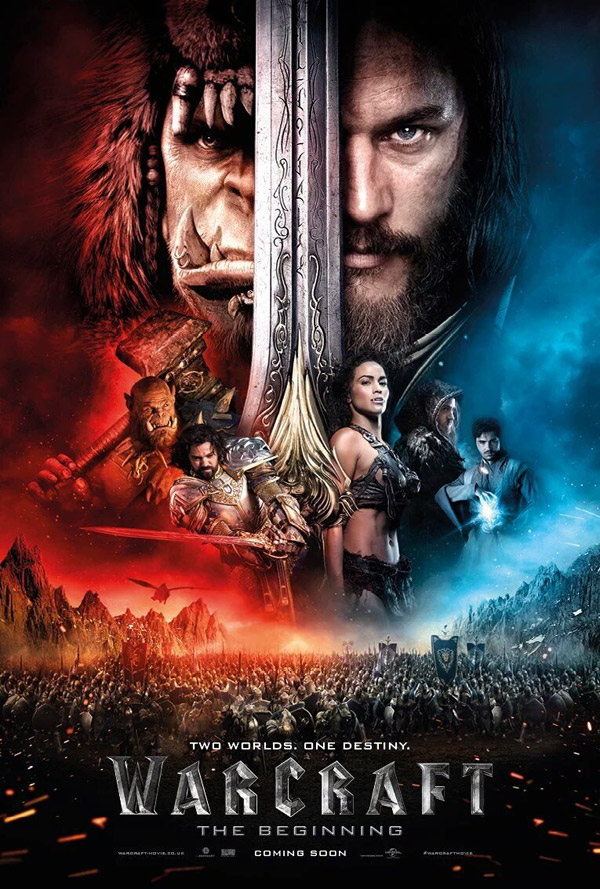 Us poster from the movie Warcraft