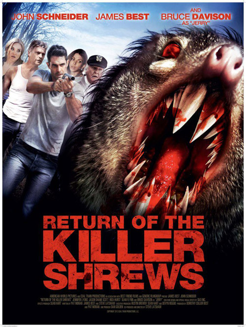 Us poster from the movie Return of the Killer Shrews
