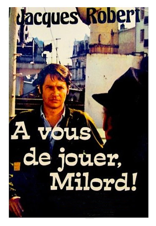 French artwork from the series A vous de jouer Milord