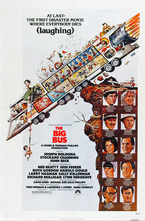 Us poster from the movie The Big Bus