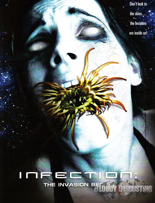 Us poster from the movie Infection: The Invasion Begins