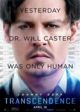 Movie poster from Transcendence, in theaters on April 18, 2014