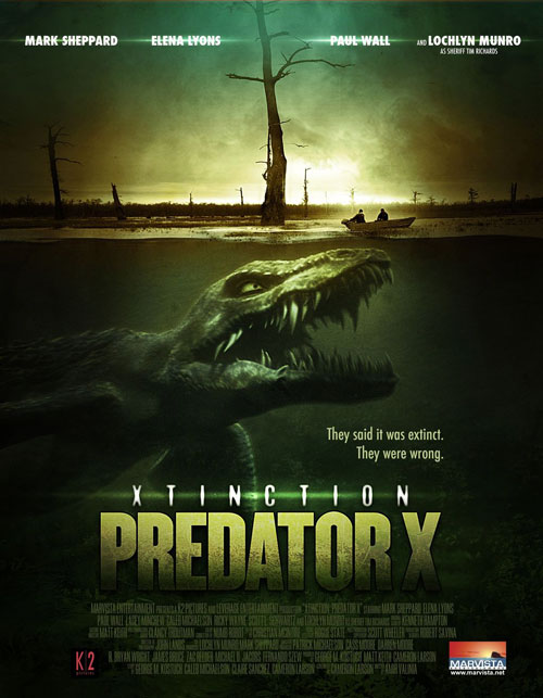 Us poster from the movie Alligator X