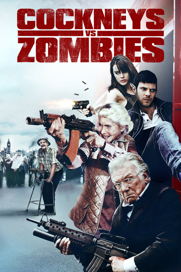 Affiche internationale de 'Cockneys vs Zombies'