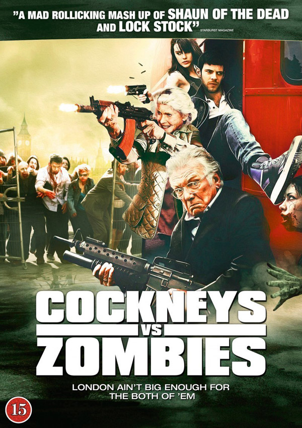 Affiche britannique de 'Cockneys vs Zombies'