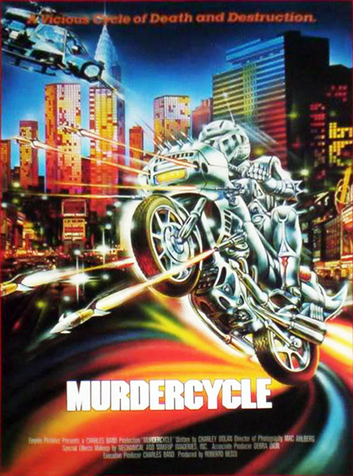 Us poster from the movie Murdercycle