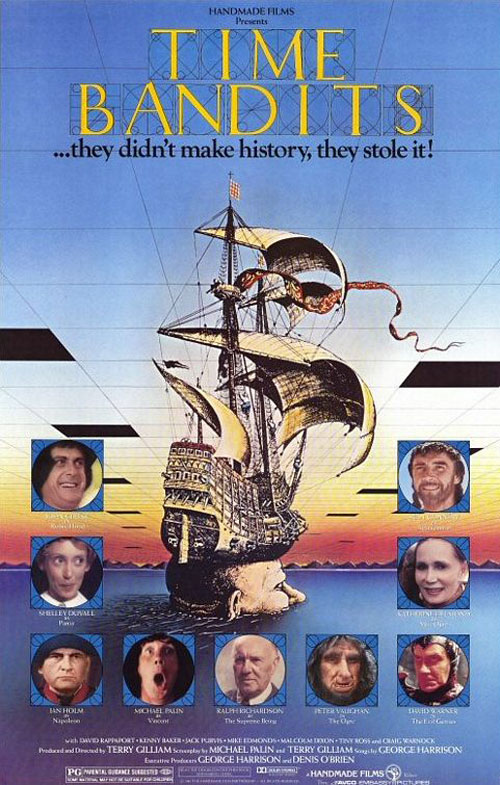 Us poster from the movie Time Bandits
