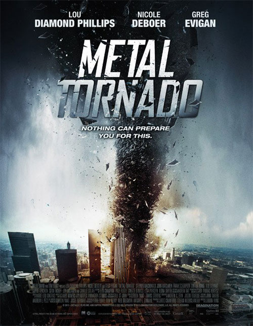 Us poster from the TV movie Metal Tornado