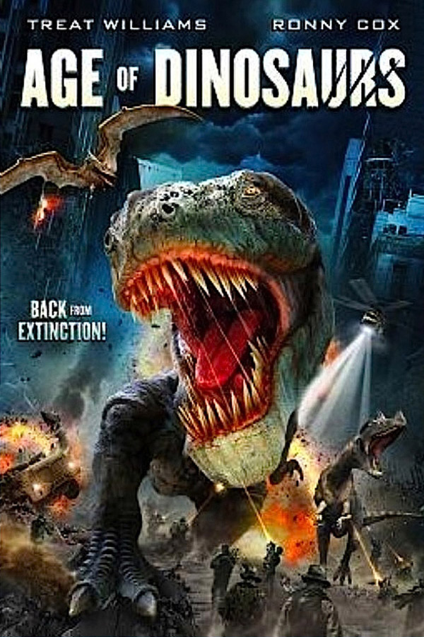 Us poster from the movie Age of Dinosaurs