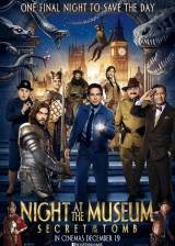 Movie poster from Night at the Museum: Secret of the Tomb, in theaters on December 19, 2014