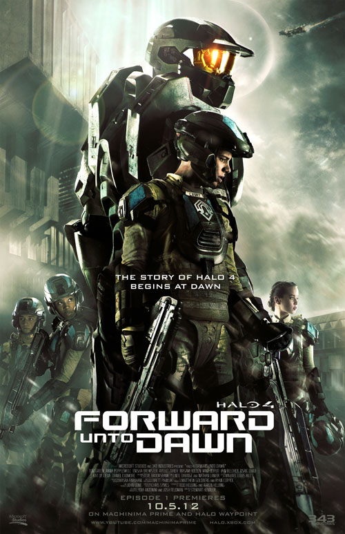 Us poster from the series Halo 4: Forward Unto Dawn