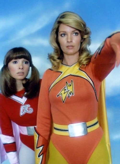 Us artwork from the series Electra Woman and Dyna Girl