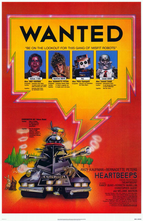 Us poster from the movie Heartbeeps