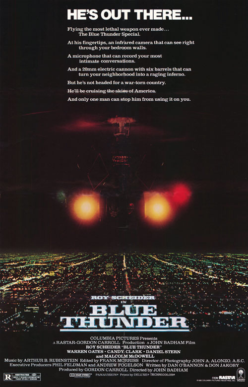 Us poster from the movie Blue Thunder