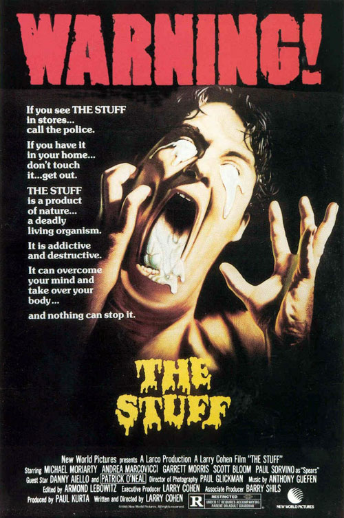 Us poster from the movie The Stuff