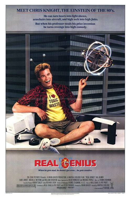 Us poster from the movie Real Genius