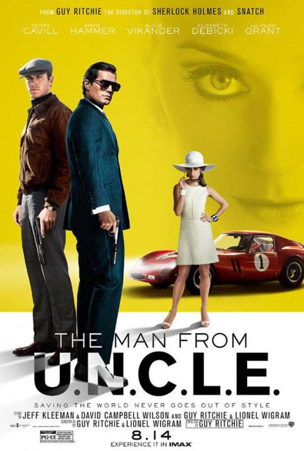 Us poster from the movie The Man from U.N.C.L.E.