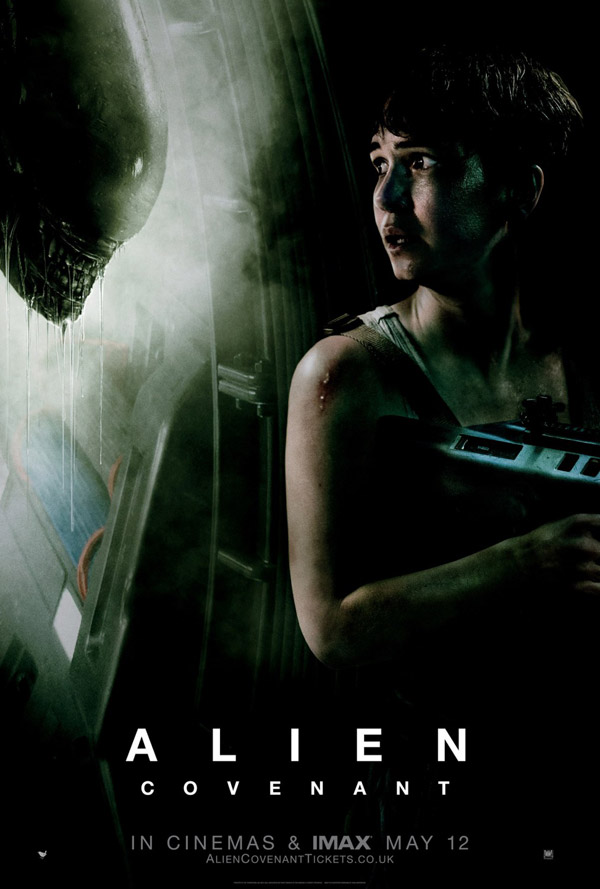 Affiche britannique de 'Alien: Covenant'