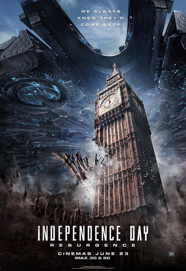 Us poster from 'Independence Day: Resurgence'