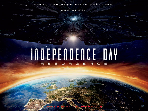 French poster from 'Independence Day: Resurgence'
