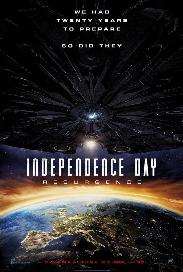 Us poster from the movie Independence Day: Resurgence