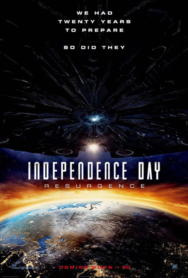 Affiche américaine de 'Independence Day : Resurgence'