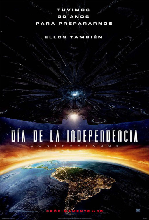 Affiche mexicaine de 'Independence Day : Resurgence'