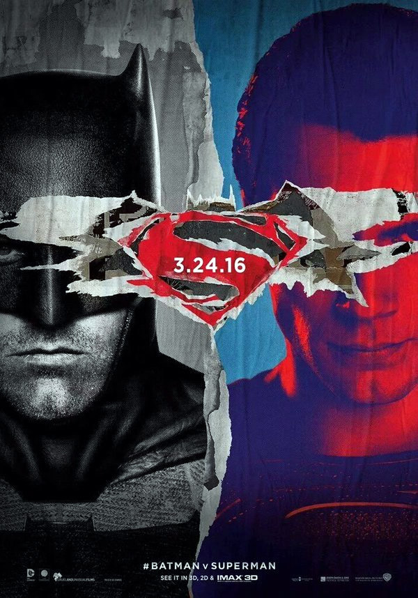 Batman v Superman : L'Aube de la Justice Blu-ray 3D