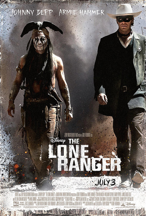 Us poster from the movie The Lone Ranger