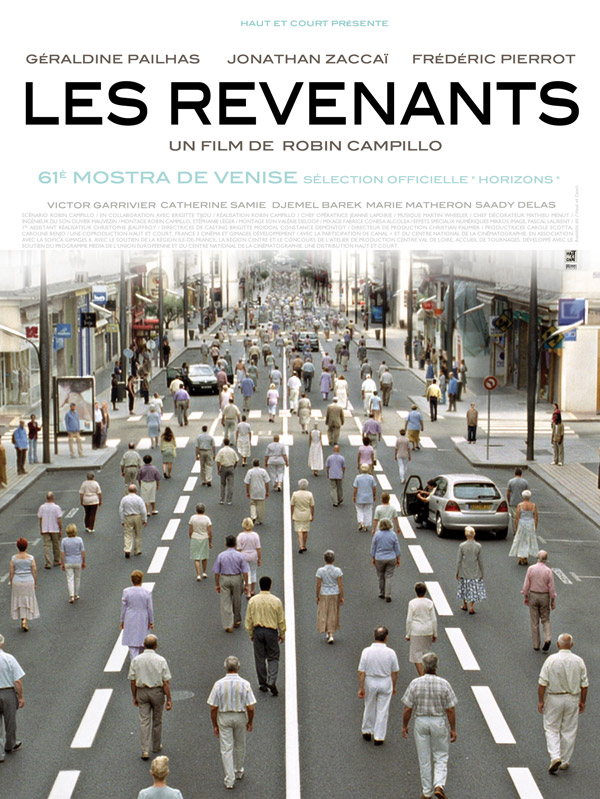 French poster from the movie The Returned (Les revenants)