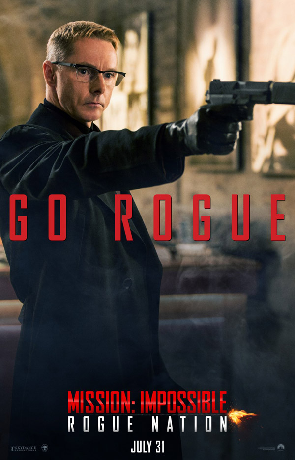 Affiche américaine de 'Mission : Impossible - Rogue Nation'