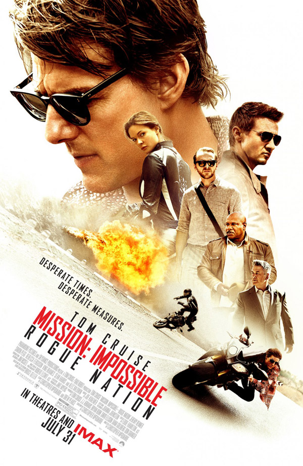 Us poster from the movie Mission: Impossible - Rogue Nation