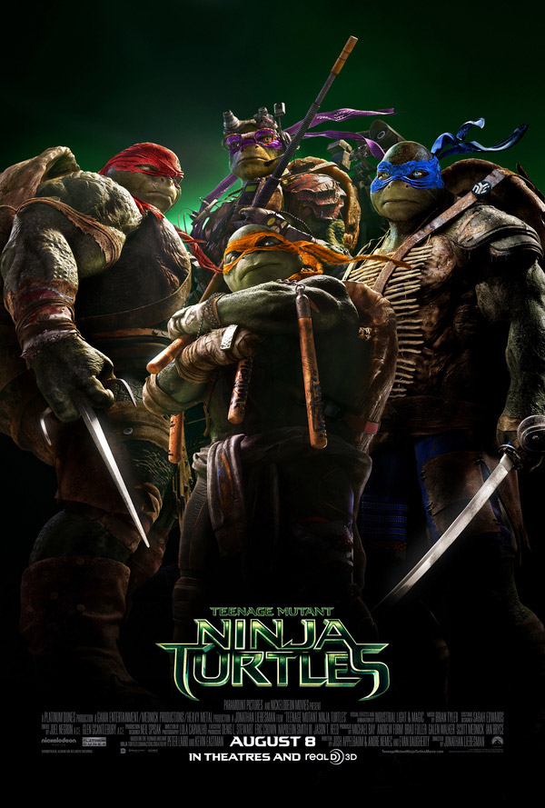 Us poster from the movie Teenage Mutant Ninja Turtles