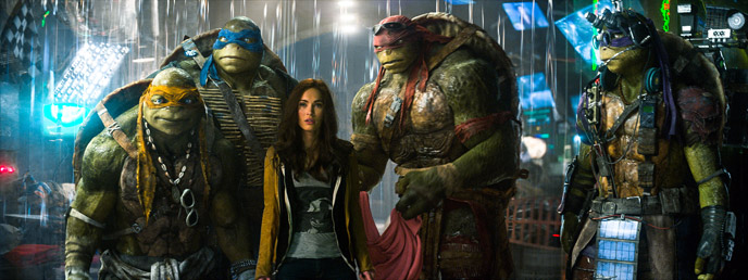 Photo de 'Ninja Turtles' - ©2014 Paramount - Ninja Turtles (Teenage Mutant Ninja Turtles) - cliquez sur la photo pour la fermer