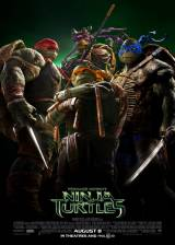 Movie poster from Teenage Mutant Ninja Turtles, in theaters on August 08, 2014