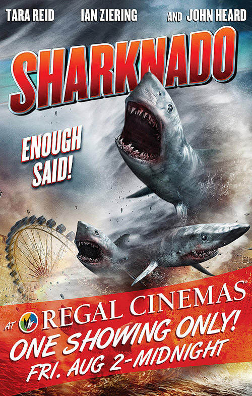 Us poster from the TV movie Sharknado