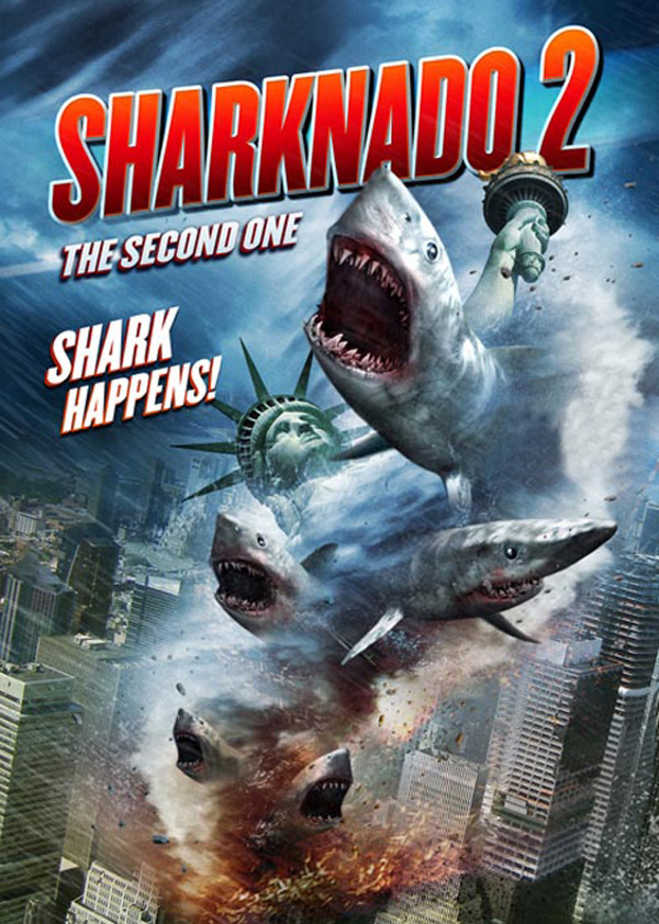 Us poster from the TV movie Sharknado 2: The Second One