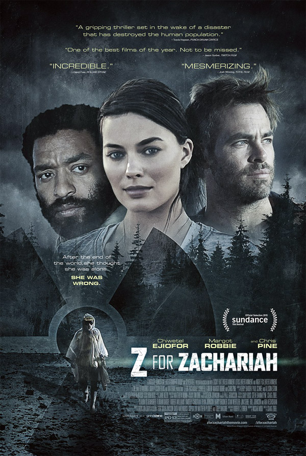 Us poster from the movie Z for Zachariah