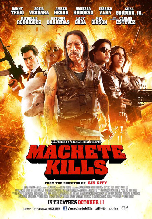 Us poster from the movie Machete Kills